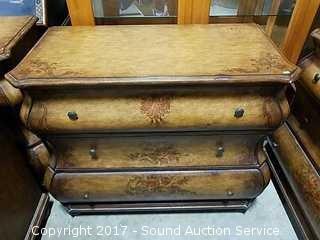 VIntage Heavy Hand Painted Bombay Dresser