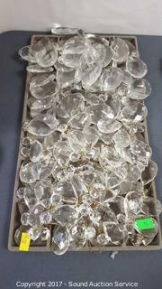 Large Lot of Crystal Prisms - 2 Different Sizes