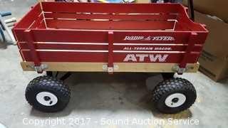 Radio Flyer All Terrain Wooden Wagon