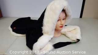 Genuine Fur Lined Hood