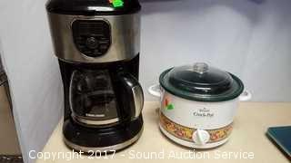 Black & Decker Coffee Pot & Rival Crock Pot