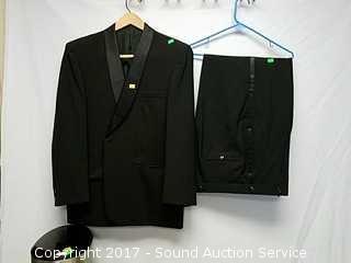 Vintage Oviatt's Black Suit