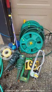 Flat Hoses, Sprinklers, & Stake Power Cords