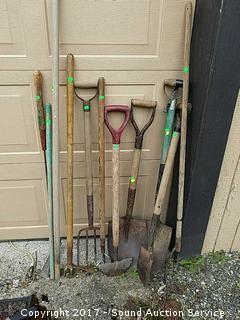 11 Piece Yard Tool Lot