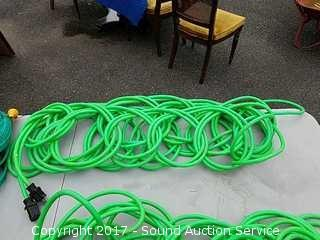 Heavy Duty Lime Green 100' FT. 12/3 Extension Cord
