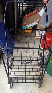 Easy Wheels Folding Metal Cart