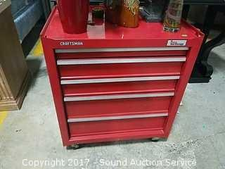 Craftsman Rolling Tool Box Loaded W/ Tools