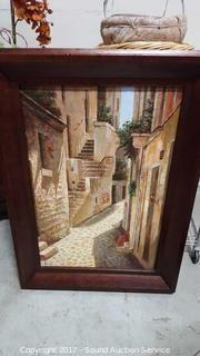 Original Artist Signed Oil on Canvas W/ COA