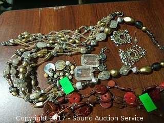 Beaded & Semi Precious Gemstone Jewelry