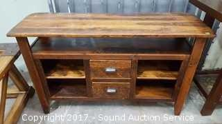 Beautiful Rustic Console Table