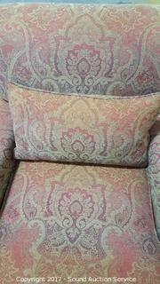 Century Polyester & Duck Feathers Easy Chair