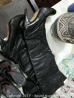 6 Pairs Ladies Boots & Shoes