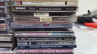 40+ Rock Music CD's