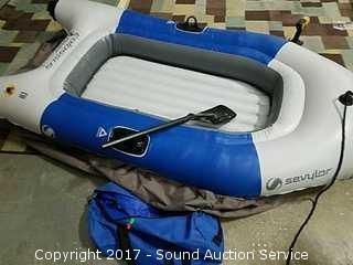 Sevylor Inflatable Raft & Air Mattress