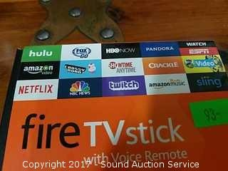 NEW Amazon Fire TV Stick W/ Remote