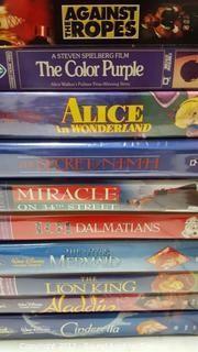 VHS Disney Movies & Popular Movies