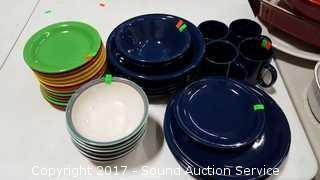 Colorful Dish Set