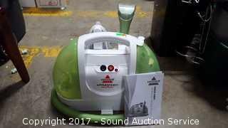 Little Green Proheat Bissell Steam Cleaner
