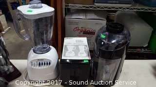 Juicer, Toaster & Blender