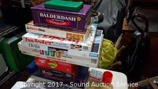 (10) Board Games, Cards & Cribbage