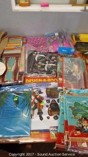 Huge Lot of Mostly New Pirate Decor