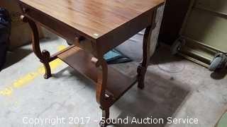 Vintage Mahogany Writing Desk