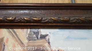 Large Interior Accent Tuscan Villa Print