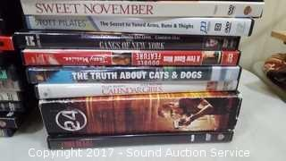40+ Various Popular DVD movies