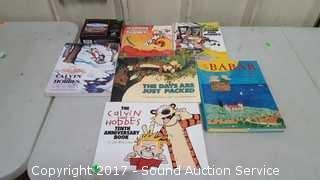 Calvin & Hobbs & Farside Comics Books