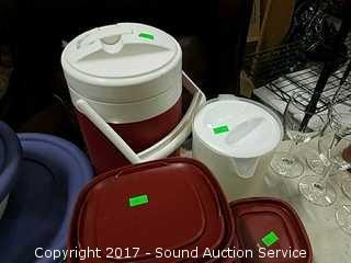 21 Pc. Lot of Tupperware Containers & More