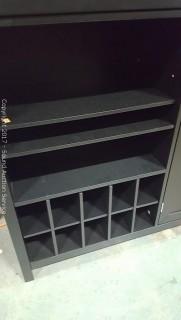 Modern Black Bar Sideboard