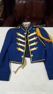 Band Outfit Blue & Gold