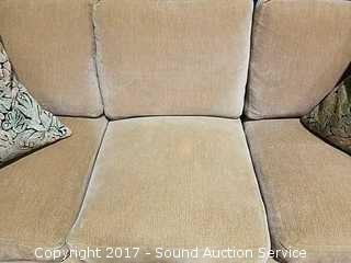 Kreiss Collections Sofa W/ Down Cushions & Pillows