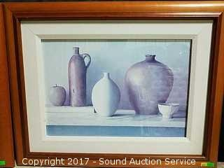 Wetherby Still Life Vases Apple & Pear Prints