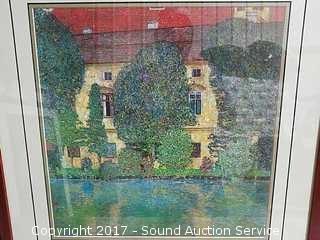 Gustav Klimt Schloss Kammer Park Print