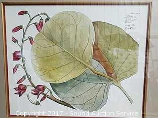 Plaso Leaf Print New Century Picture Corp