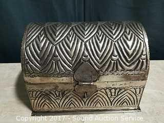 Hand Crafted Metal Chest Made in India