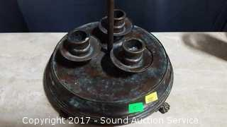 Maitland Smith Copper Finish Candle Holder