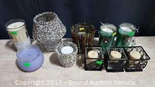 Decorative Candles & Candle Holders