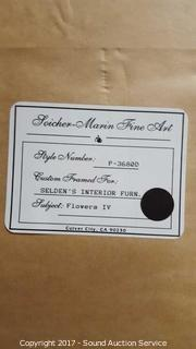 "Soicher Marin ""Flowers IV"" Framed & Matted Print"