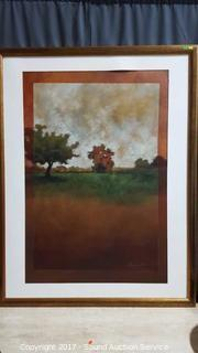Haden Scenery Print Framed & Matted