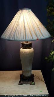 Pair of Leviton Pottery Interior Accent Lamps