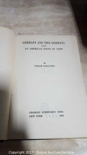 1913 Germany & The Germans First Edition