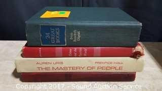 (4) 1960's Hard Cover Books Some First Editions