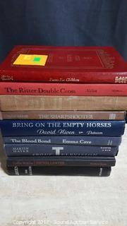 (9) 1970's Hard Cover Books Some First Editions