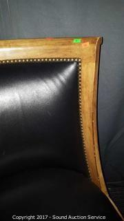 Beautiful Kreiss Leather Accent Chair