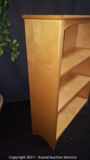 Solid Maple Bookshelf
