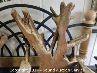 Teak Wood Root Rustic Chair