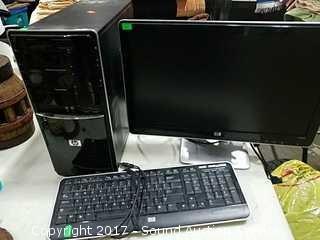 HP Pavilion P6000 Desktop Computer