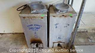 Pair of Little Chef Electric Smokers